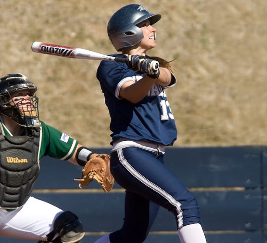 Nevada's Brittany Puzey starred for the Wolf Pack softball teams of the late 2000s.