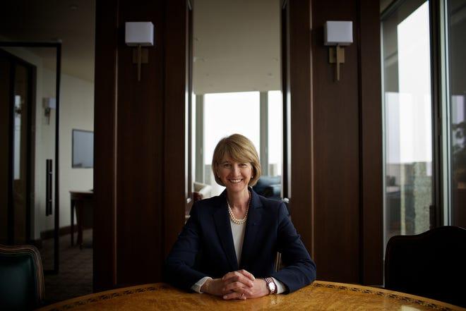 Dr. Kristina M. Johnson, the 13th chancellor of SUNY.