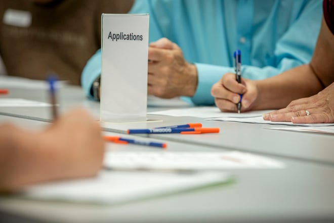 Job seekers can meet with potential employers at an event at South Louisiana Community College's T.H. Harris campus in Opelousas.