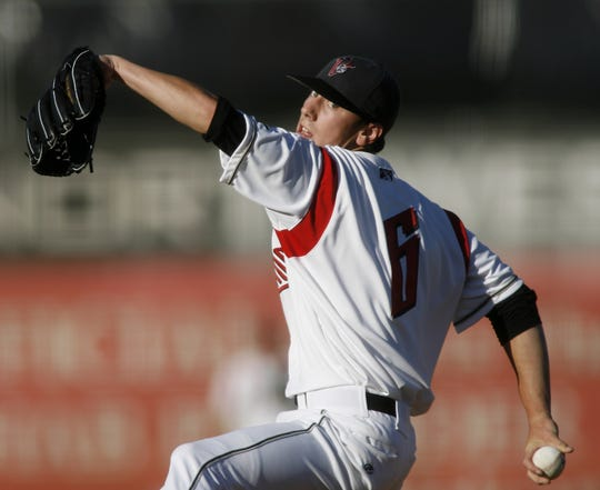 San Francisco Giants first round pick Tim Lincecum made his professional start as the Volcanoes hosted the Vancouver Canadians in Northwest League action, at Volcanoes Stadium, on Wednesday July 26, 2006.