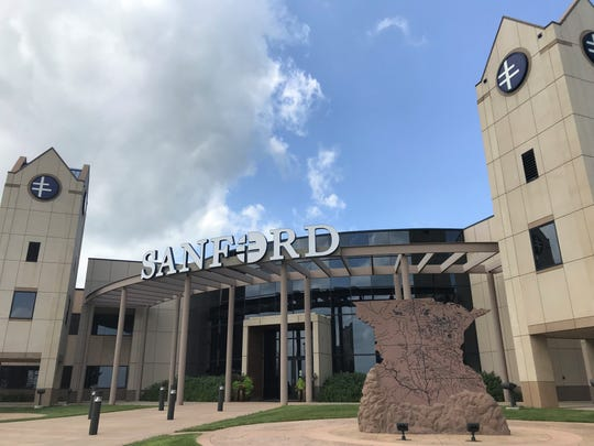 Sanford Center, the headquarters for Sanford Health, in northeast Sioux Falls.