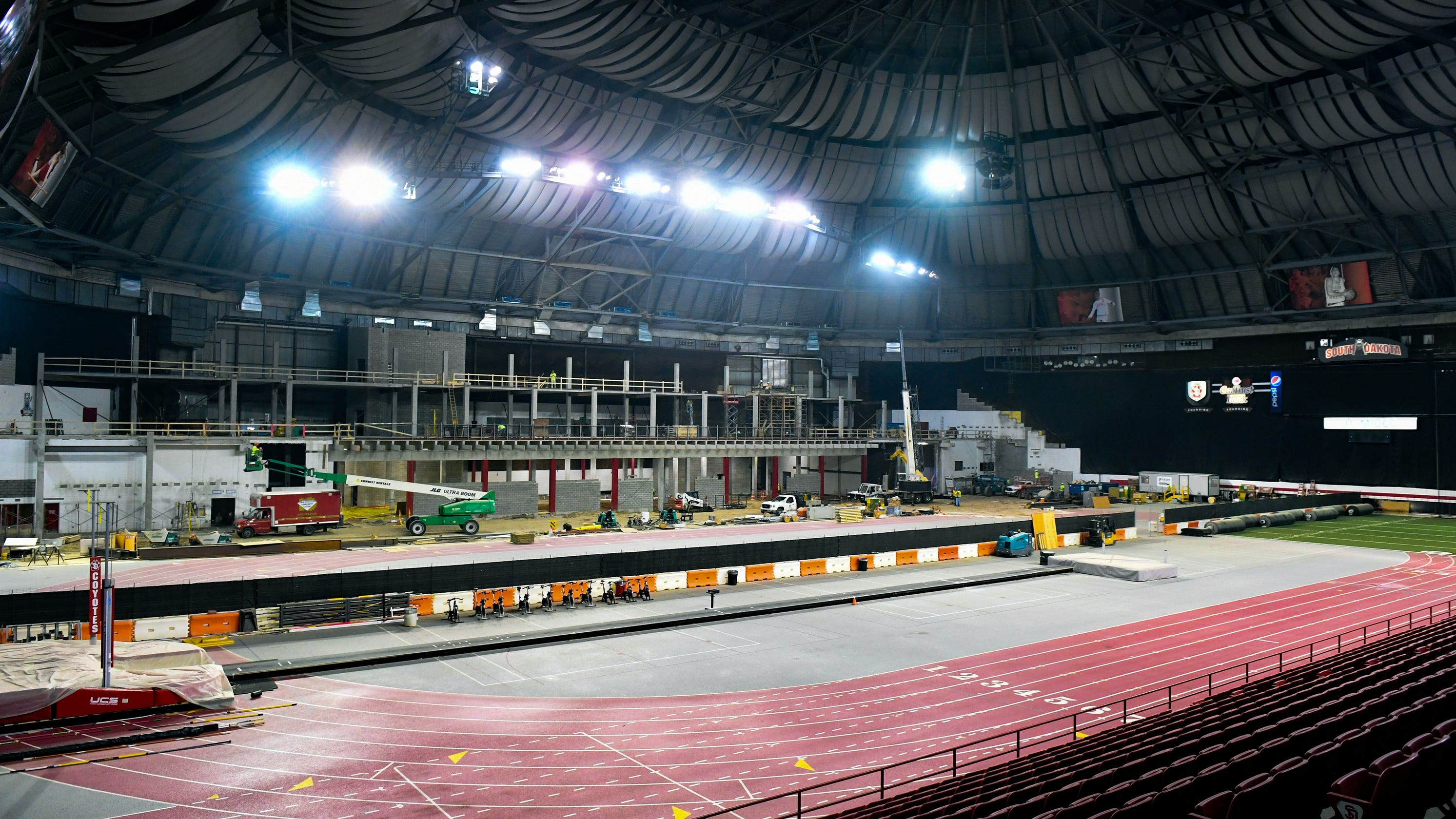 Race To The Finish: Herbster Says DakotaDome Will Be Ready
