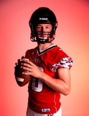Brandon Valley quarterback Thomas Scholten