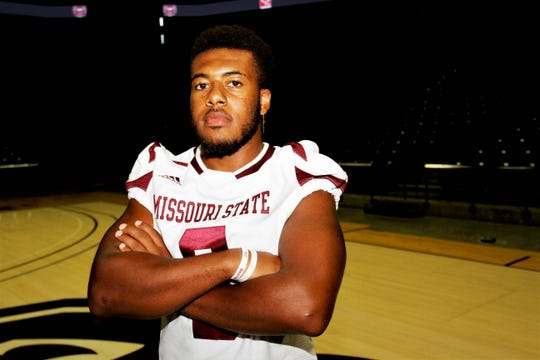 Senior linebacker Angelo Garbutt has been one of Missouri State's best players since he stepped foot on campus.