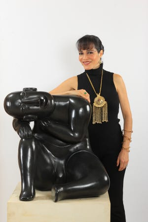 Artist Claudia Hecht will present an art talk next week hosted by the Dixie State University Sears Art Museum and Arte Divine.