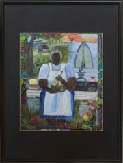 """Penny Hackett's """"Grandma Lizzie,"""" is part of the """"Taste of the South"""" exhibit."""