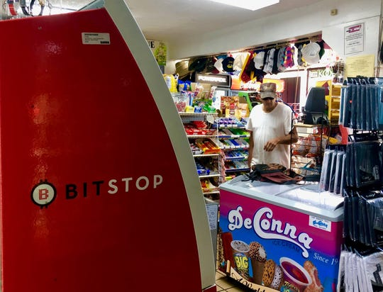 The BitStop bitcoin ATM was just installed last month at the Citgo gas station at 1005 21st St in Vero Beach, according to store employee Ahmer Raza.