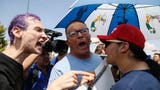 Throughout El Paso Wednesday, people voiced their political beliefs to those who listen and those who do not.
