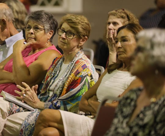 People gather to remember Toni Morrison by reading excerpts of her books and essays at Nyack Center Aug. 7, 2019, Toni Morrison, award-winning author, died on Monday at age 88.