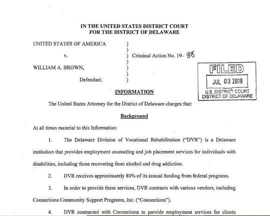 William Brown indictment