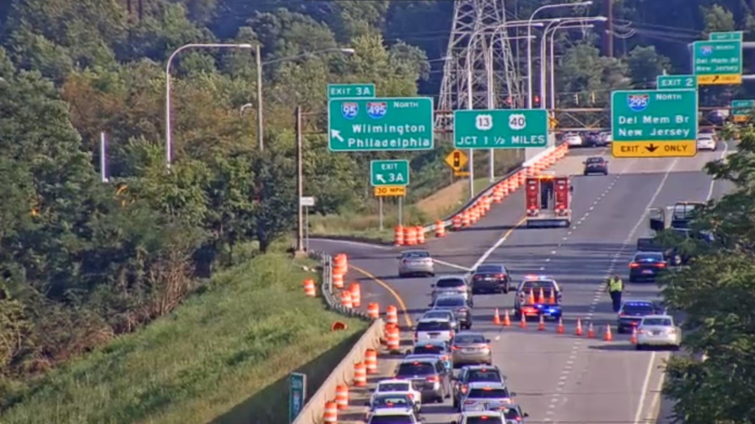 I-95 reopened after crash slowed traffic Thursday