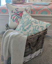 """Southern Charm"" star Craig Conover created an exclusive color palette of his line of pillows for the Bethany Beach store Perfect Furnishings. He will be at the store Friday from 4 to 6 p.m. to meet customers."