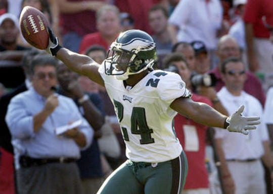 Cornerback Sheldon Brown had 19 interceptions as an Eagle from 2002-09.