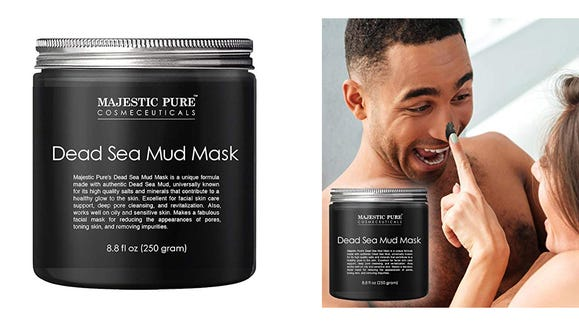 Treat your skin with this Dead Sea mud mask.