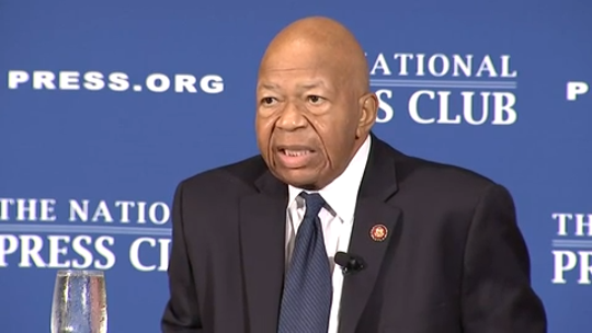 Rep. Elijah Cummings says he wants Donald Trump to visit Baltimore, the city he disparaged as 'rodent infested'