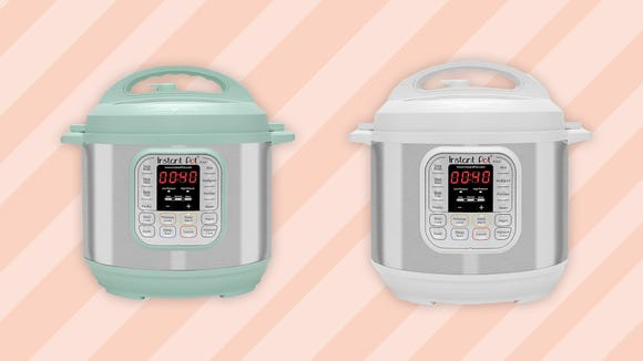 We're obsessed with these just-released colorful Instant Pots.