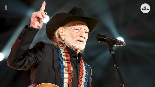 Willie Nelson will perform in Jackson at the Generals' stadium on Tuesday.