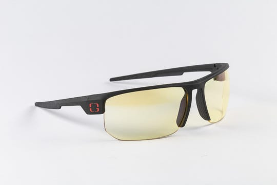 Gunnar Optiks Torpedo gaming glasses ($79.99) have a lightweight frame with panoramic viewing lenses and low profile temples for use with gaming headsets.