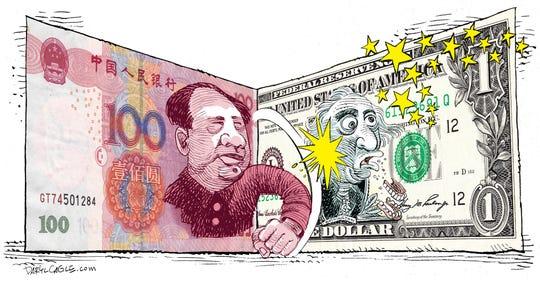 China vs USA Currency War Repost