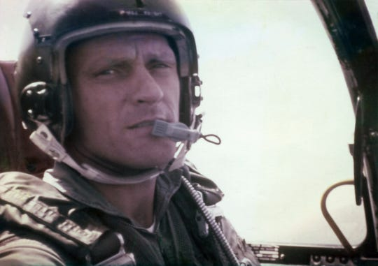 On May 19, 1967, Maj. Roy A. Knight, Jr., USAF, was shot down while attacking a target on the Ho Chi Minh Trail in Laos. He was initially listed as Missing in Action until being declared Killed in Action in 1974. During that time, he was promoted to Colonel. Fifty-two years later, in Feb, 2019, Col. Knight's remains were recovered and identified by personnel assigned to the Defense POW/MIA Accounting Agency.