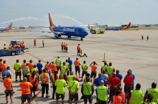 Southwest Airlines Captain Bryan Knight flew his father back home to Dallas Love Field for the final time more than 50 years after he was killed in action during the Vietnam War in 1967.