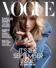 Taylor's Vogue cover.