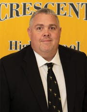 Cliff Roberts is the new principal of Crescent High School.
