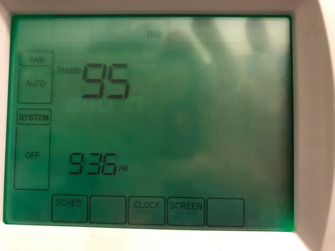 95 degrees outside is bad enough, but it's even more miserable inside the house when the air-conditioning system   suffers a fatal coolant leak.