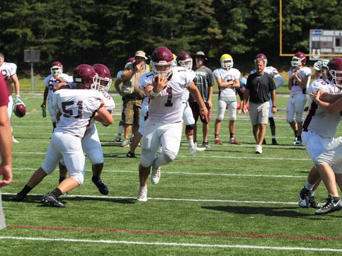 Owen High School junior Caleb Scott (1), will be one of many athletes that will kick off the fall athletic season on Aug. 20, when the Stampede in the Valley returns for its third year.
