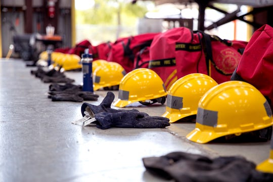 The Refinery Terminal Fire Company supplies firefighters trained in fighting industrial fires and accidents to cooperative members across the area and outside. It is the largest nonprofit industrial firefighting group in the United States. This is the group's training academy.