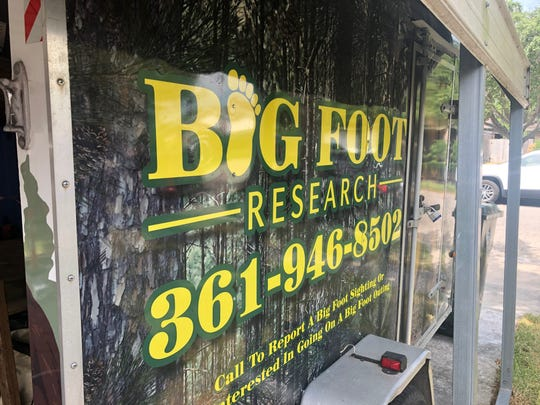 Homer Koch owns a cargo trailer that invites people to join him on a Bigfoot outing. Koch is a Bigfoot researcher looking for the creature in South Texas.