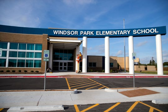 The new Windsor Park Elementary School was built as part of bond 2014. The new building is 80,354 square feet and has a capacity of 750 students.