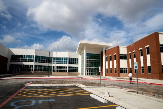 Baker Middle School was built as part of bond 2014. It is 168,318 square feet and has a capacity of 1,200 students.