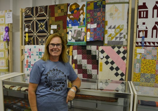 Hettie Pugh, a Spanish teacher at Southeastern High School and adviser to the Panther Power 4-H Club, was named 2019 Homemaker of the Year at the Ross County Fair.