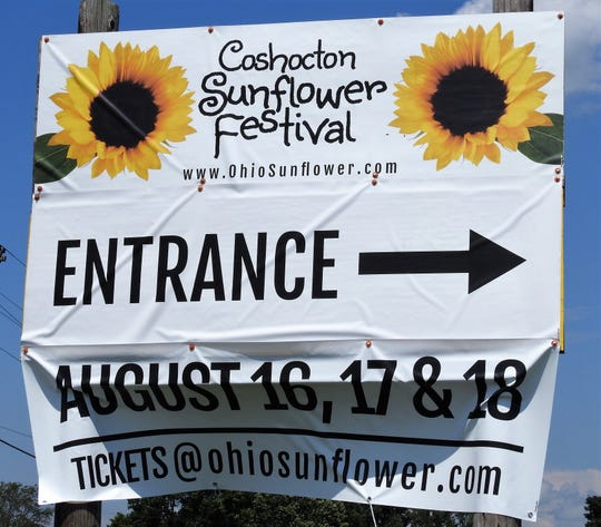 Coshocton Sunflower Festival will be held this weekend at the Coshocton KOA Campground on County Road 10.
