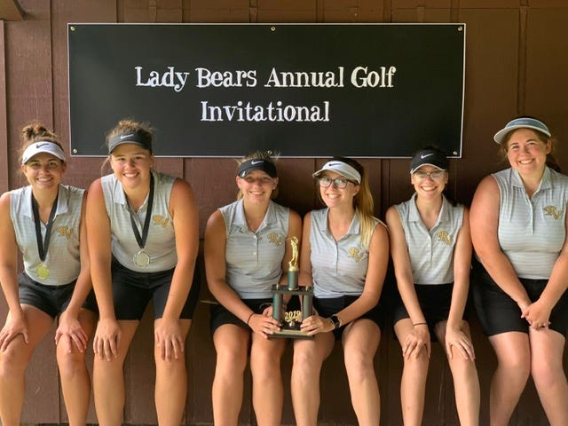The River View girls finished third in their own invitational on Friday.
