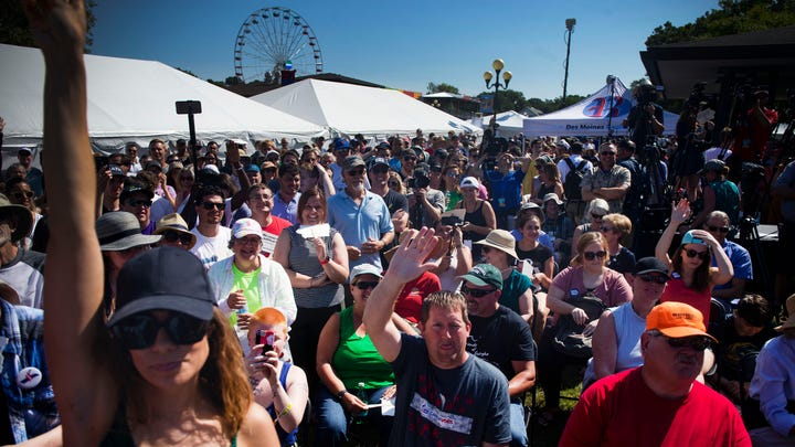 Watch: Every Register Soapbox speech at the State Fair. Plus find the schedule, coverage of Iowa visits.