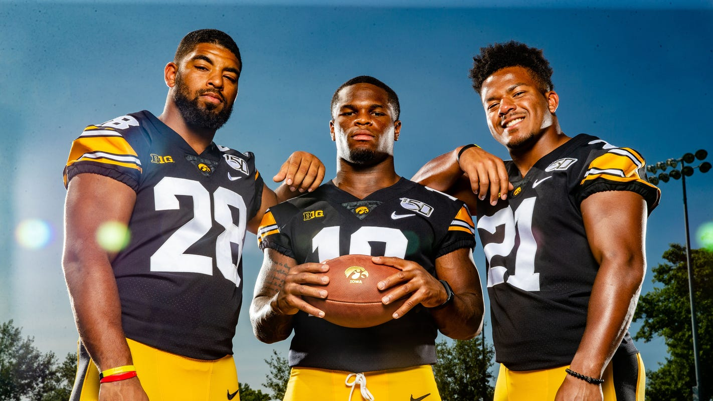 'This unit can show a lot more': Iowa's running back unit ready to charge after seesawing 2018