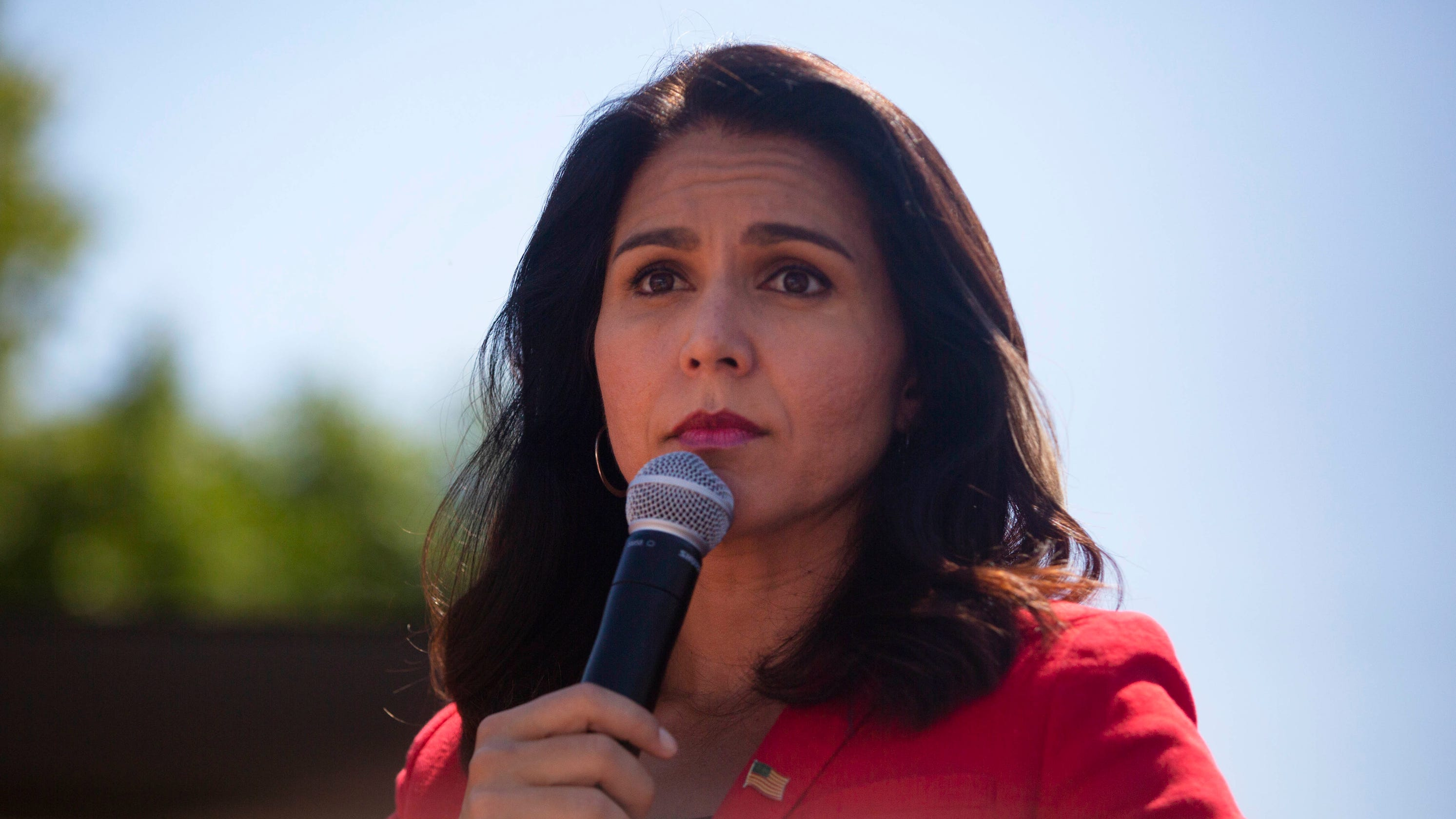 Tulsi Gabbard to report for active duty with Hawaii Army National Guard for 2 weeks