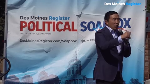 Yang on Soapbox: 'We have to make the economy work for us'