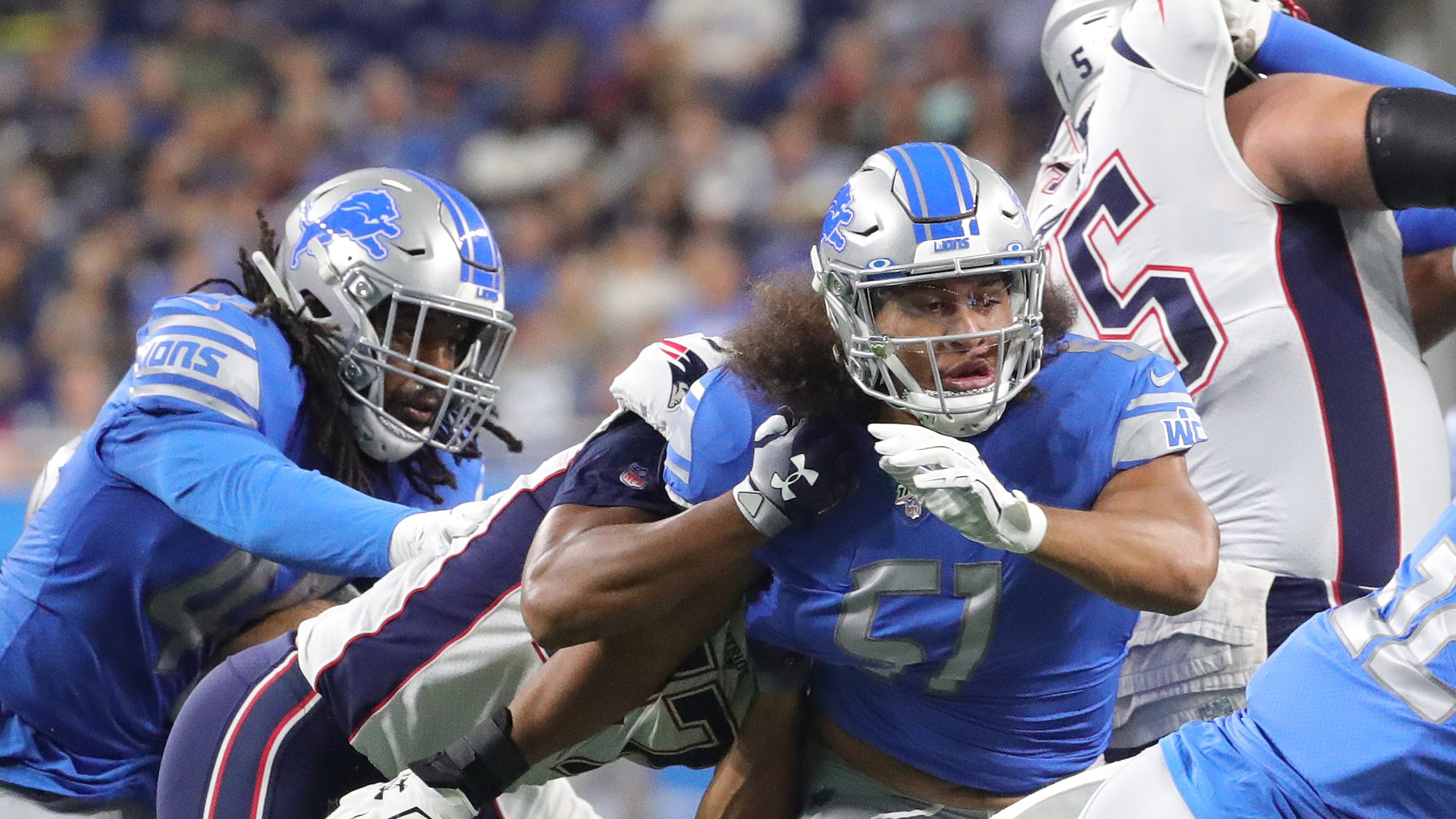 a24cb538 Game recap: Detroit Lions lose preseason opener vs. Patriots, 31-3