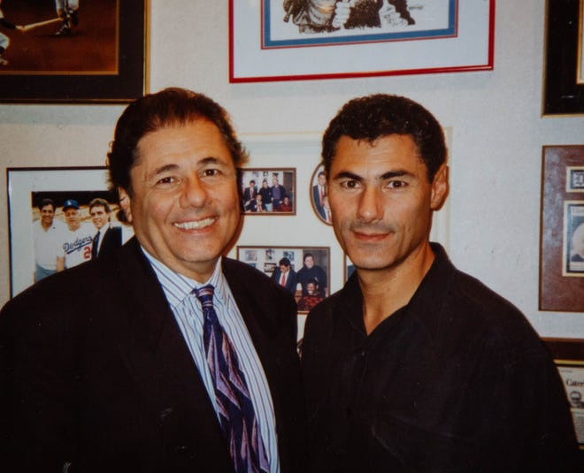 Johnny (left) and Pete Ginopolis