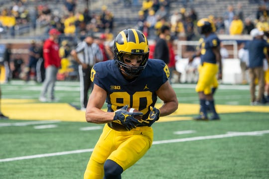 Oliver Martin transferred from Michigan to Iowa this offseason.