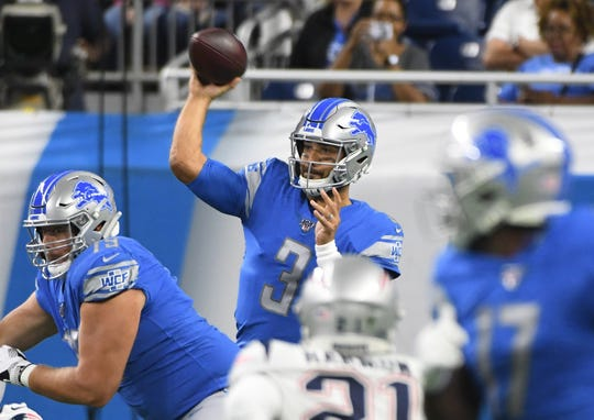 Lions quarterback Tom Savage
