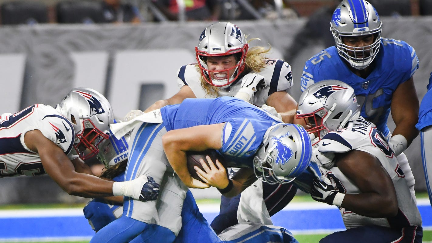 Wojo: Lions show absolutely nothing in embarrassing loss to Patriots