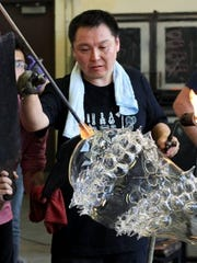 Masahiro Sasaki will hold a Guest Artist Demonstration at the Corning Museum of Glass Thursday evening.