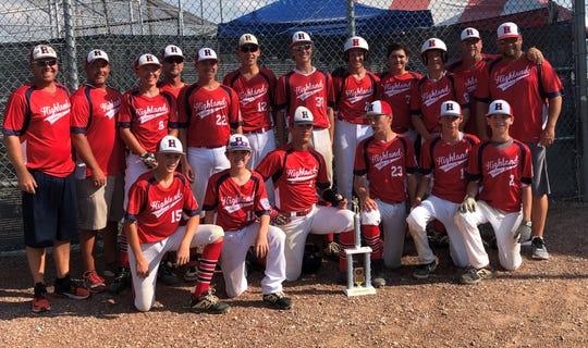Highland won the Great Lakes Regional Thursday, but lost a one-game playoff for the right to advance to the 13-14 Junior Little League World Series