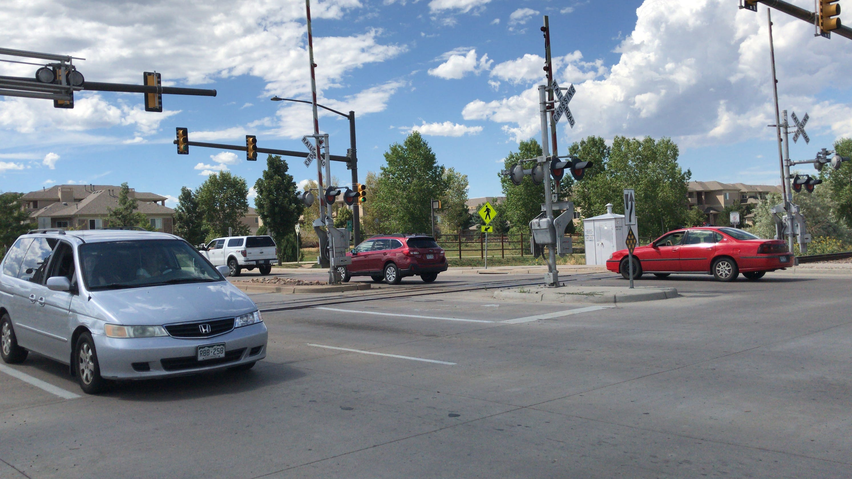 Fort Collins train crossings getting repaired