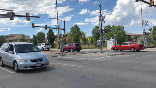 Horsetooth Road is tentatively scheduled to close Sept. 10-12 for replacement of railroad crossing materials.