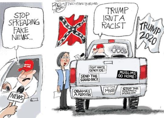 """""""Trump isn't a racist."""""""